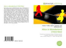 Portada del libro de Alice in Wonderland (1933 film)