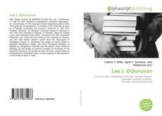 Borítókép a  Leo J. O'Donovan - hoz