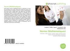 Copertina di Norme (Mathématiques)