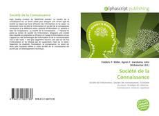 Société de la Connaissance kitap kapağı