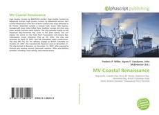 Bookcover of MV Coastal Renaissance