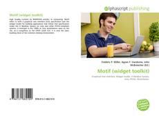 Bookcover of Motif (widget toolkit)