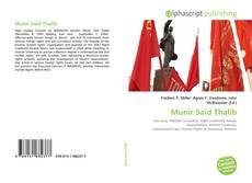 Munir Said Thalib kitap kapağı