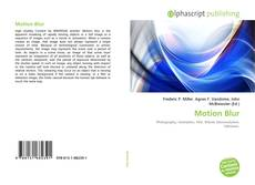 Bookcover of Motion Blur