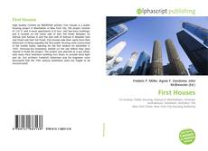 Bookcover of First Houses