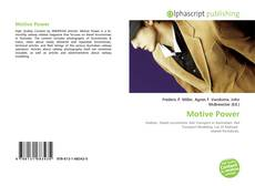 Bookcover of Motive Power