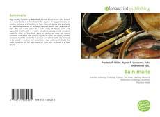 Buchcover von Bain-marie