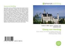 Bookcover of Georg von Hertling