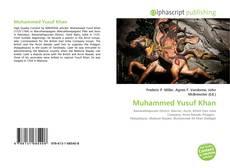 Bookcover of Muhammed Yusuf Khan