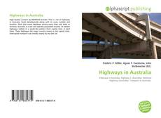 Bookcover of Highways in Australia