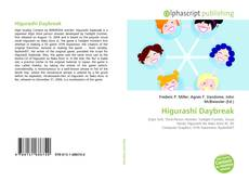 Capa do livro de Higurashi Daybreak