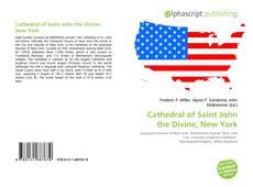Обложка Cathedral of Saint John the Divine, New York