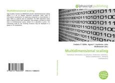 Couverture de Multidimensional scaling
