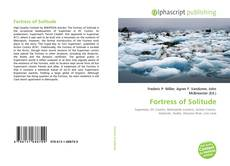 Bookcover of Fortress of Solitude