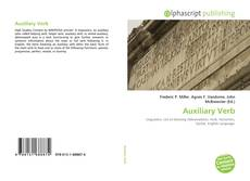 Bookcover of Auxiliary Verb