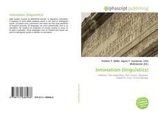 Bookcover of Intonation (linguistics)