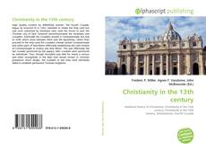 Portada del libro de Christianity in the 13th century