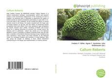 Bookcover of Callum Roberts