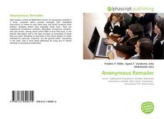 Bookcover of Anonymous Remailer