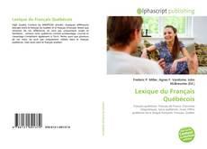 Обложка Lexique du Français Québécois