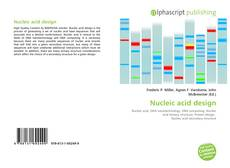 Couverture de Nucleic acid design