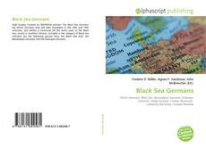 Portada del libro de Black Sea Germans