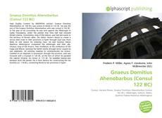 Copertina di Gnaeus Domitius Ahenobarbus (Consul 122 BC)