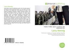 Bookcover of Larry Hennig