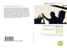 Buchcover von Military Disc Shaped Aircraft