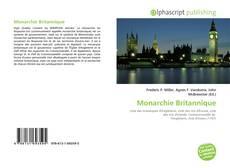 Bookcover of Monarchie Britannique