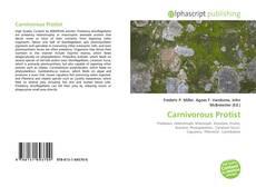 Portada del libro de Carnivorous Protist