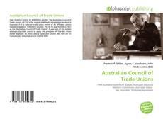 Capa do livro de Australian Council of Trade Unions