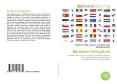 European Integration kitap kapağı