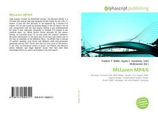 Capa do livro de McLaren MP4/6
