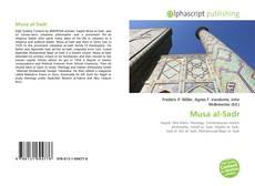 Capa do livro de Musa al-Sadr