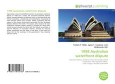 Bookcover of 1998 Australian waterfront dispute