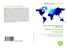 Bookcover of History of Western Civilization