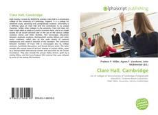 Capa do livro de Clare Hall, Cambridge