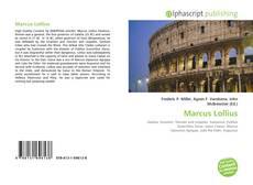 Buchcover von Marcus Lollius