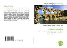 Portada del libro de Gaius Octavius