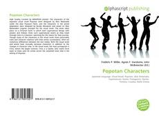 Bookcover of Popotan Characters