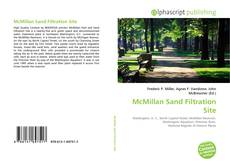 Couverture de McMillan Sand Filtration Site