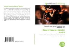 Konzerthausorchester Berlin kitap kapağı
