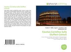 Обложка Faustus Cornelius Sulla (Suffect Consul)