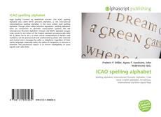 Capa do livro de ICAO spelling alphabet