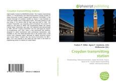 Bookcover of Croydon transmitting station