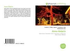 Portada del libro de Anna Halprin