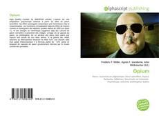 Buchcover von Opium