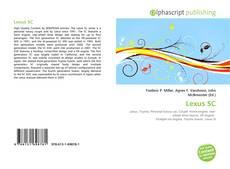 Обложка Lexus SC
