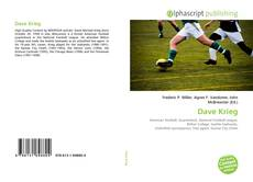Bookcover of Dave Krieg